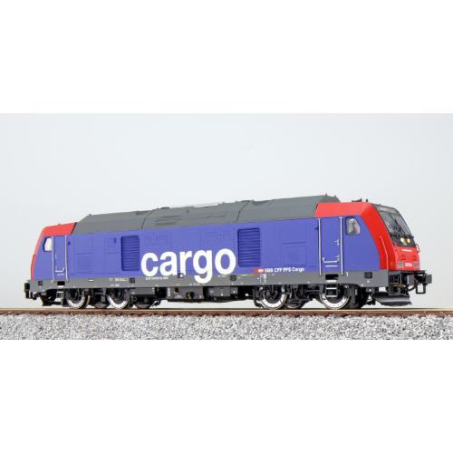 ES31099 Diesel locomotive, 245 502, SBB Cargo, red-blue, Ep VI, Sound+Smoke, DC/AC