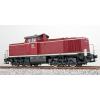 ES31230 Diesellok, V90 043, DB, altrot, Ep III, Sound+Rauch, DC/AC
