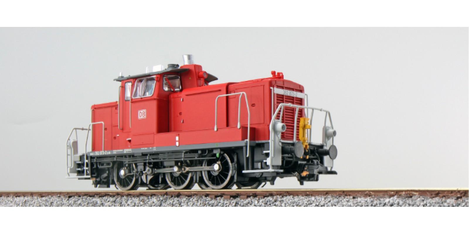 ES31412 Diesel loco, 362 873, traffic red, Era VI, Sound+Smoke, el. Coupler, DC/AC