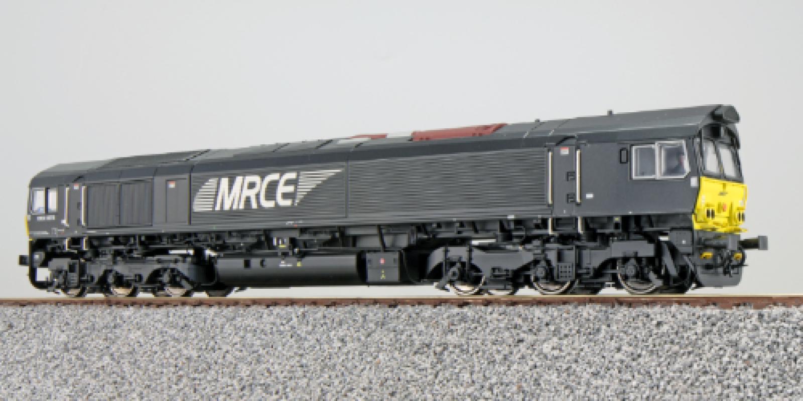ES31278Diesel loco, MRCE DE 6616, black, Ep VI, Sound+Smoke, DC/AC