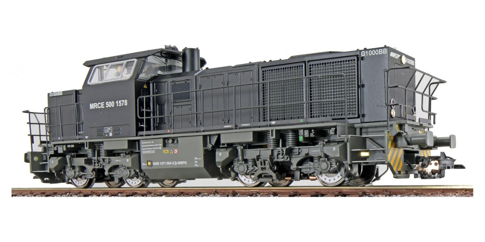 ES31300 Gauge H0 Diesel locomotive G1000 of the MRCE, epoch VI with sound
