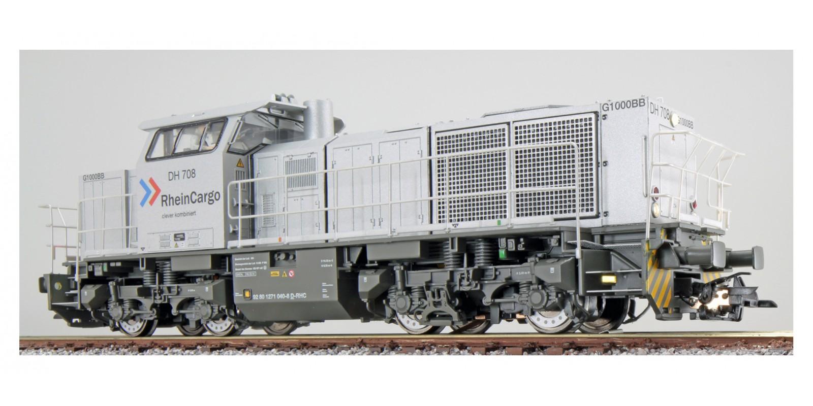 ES31301 Gauge H0 Diesel locomotive G1000 of the RheinCargo, epoch VI with sound