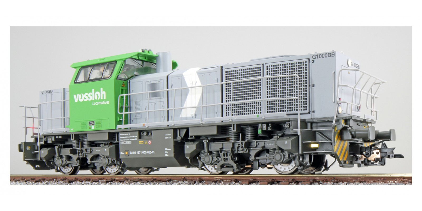 ES31306 Gauge H0 Diesel locomotive G1000 of Vossloh, epoch VI with sound