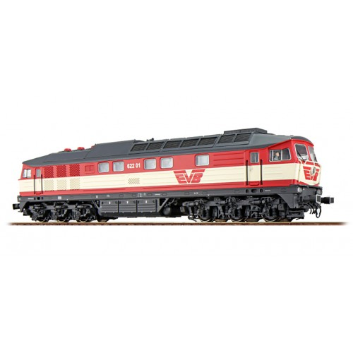 ES31166 Diesel Loc 622.01, EVB, red-cream, Era V, Sound+Smoke, DC/AC