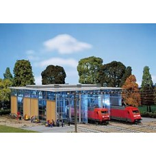 Fa120217 	 Electric engine shed, three tracks