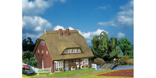 Fa130250  Dwelling house with reeds-thatch roof