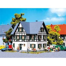 Fa130259  Half-timbered two-family house