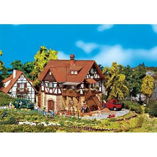 Fa130266  Half-timbered house