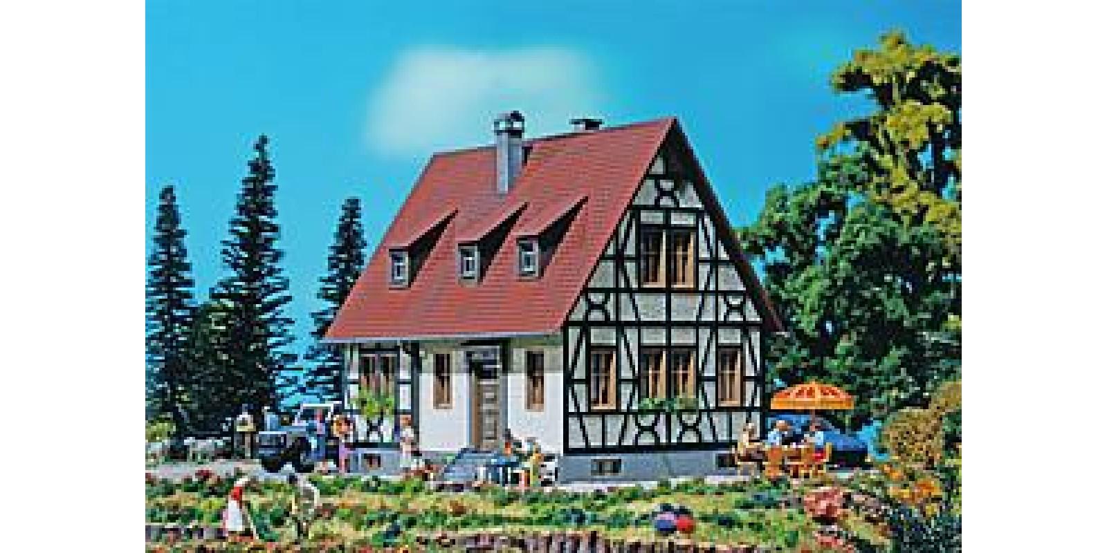 Fa131246  Half-timbered house