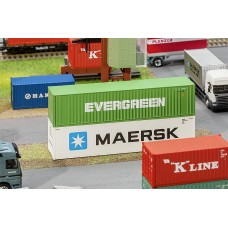 FA180846 40' Hi-Cube Container EVERGREEN