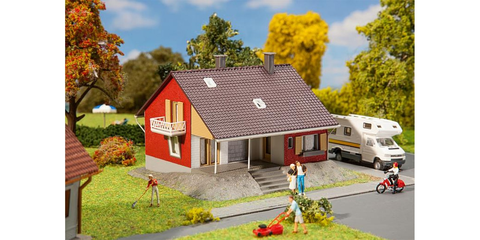 FA131355 One-family house with terrace