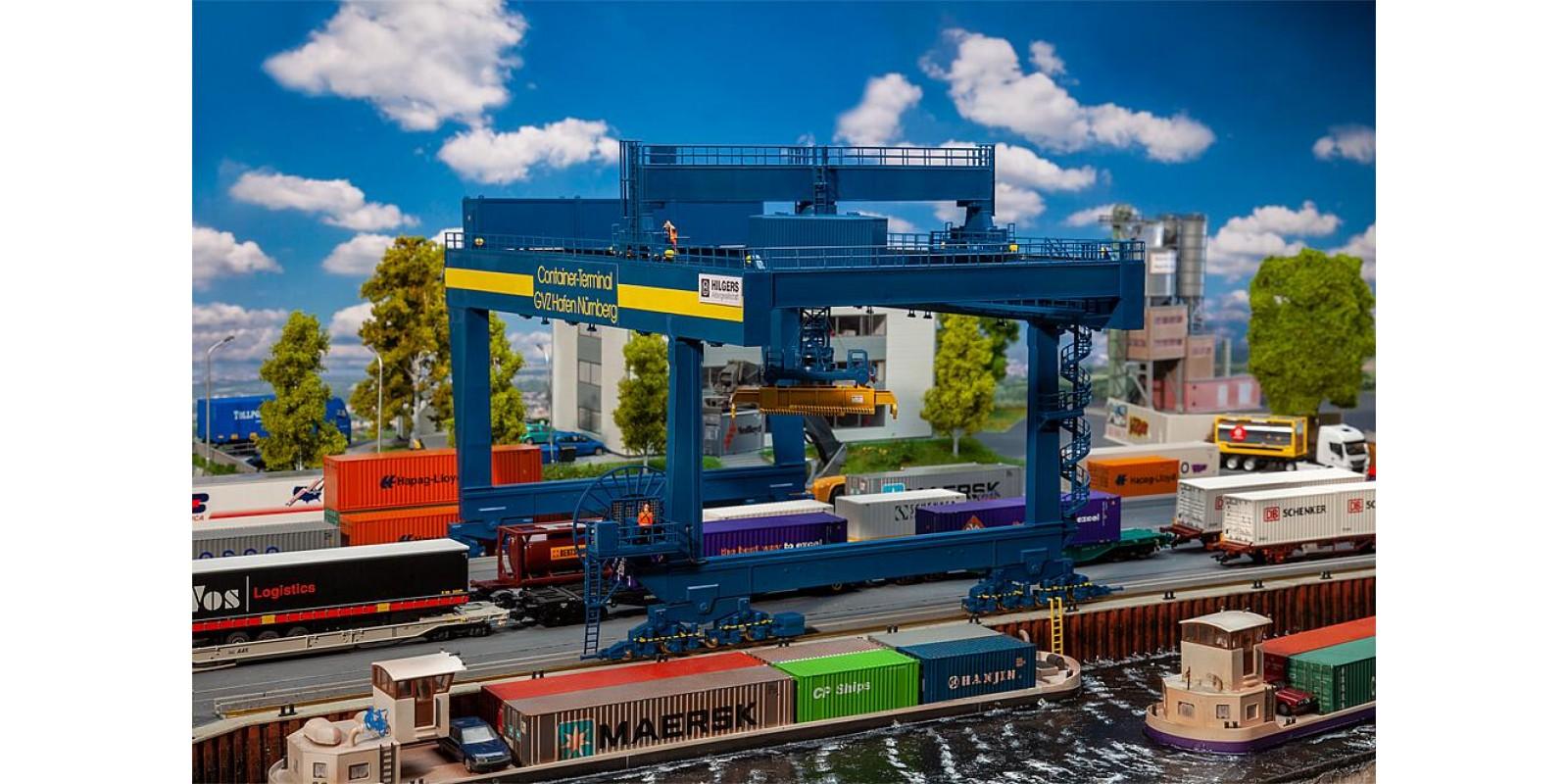 FA120291 Container bridge-crane GVZ Hafen Nürnberg