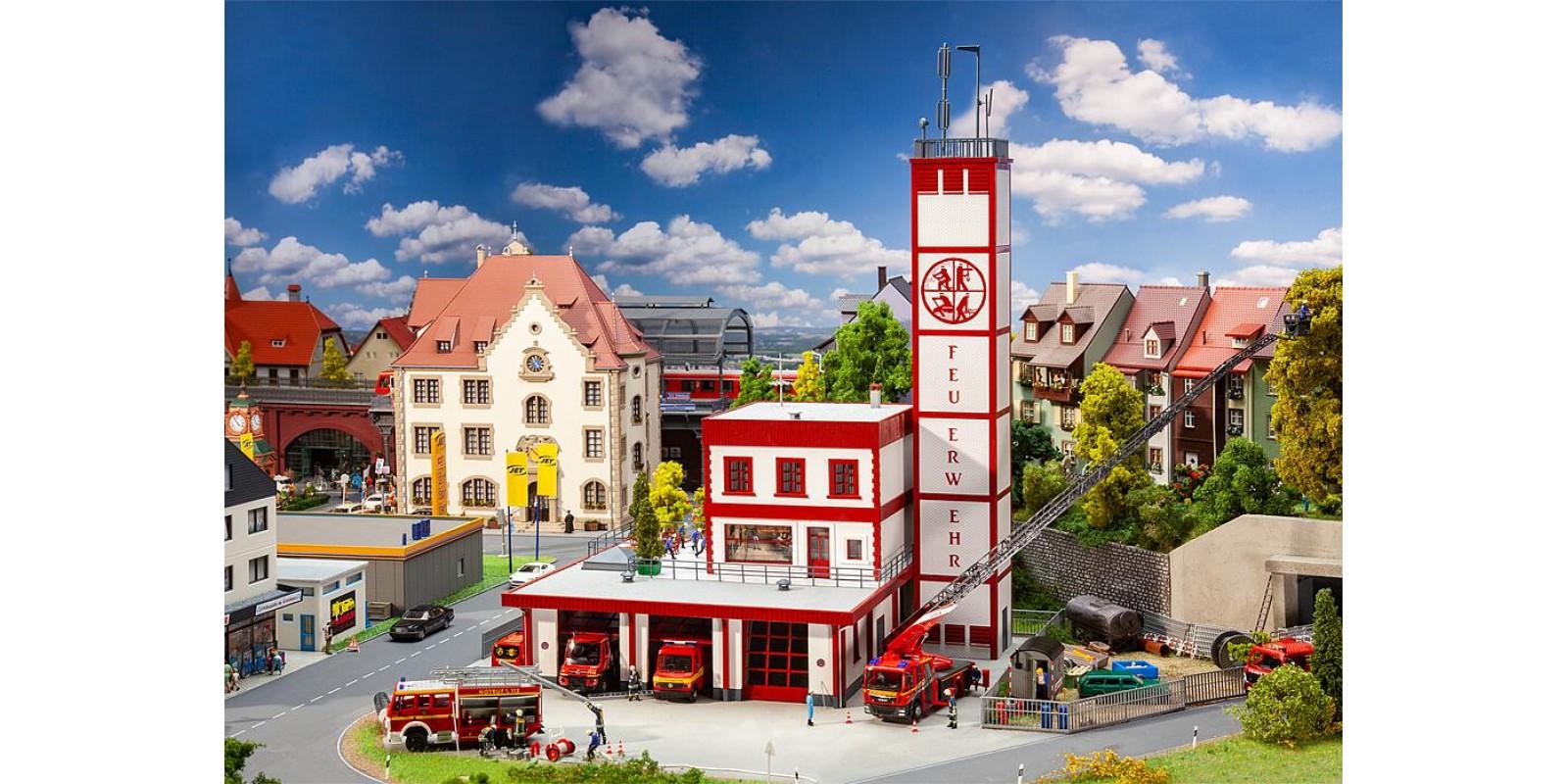 FA130159 Modern fire station