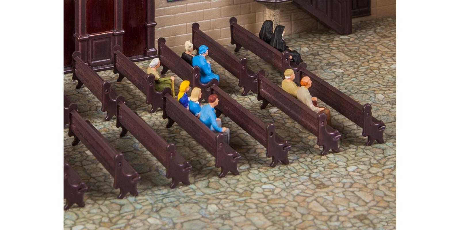 FA180989 7 Church benches