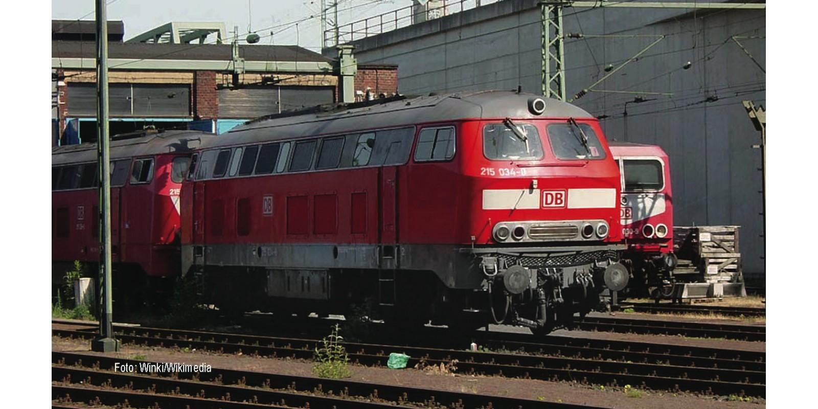 FL424005 - Diesel locomotive class 215, DB AG, DC analog