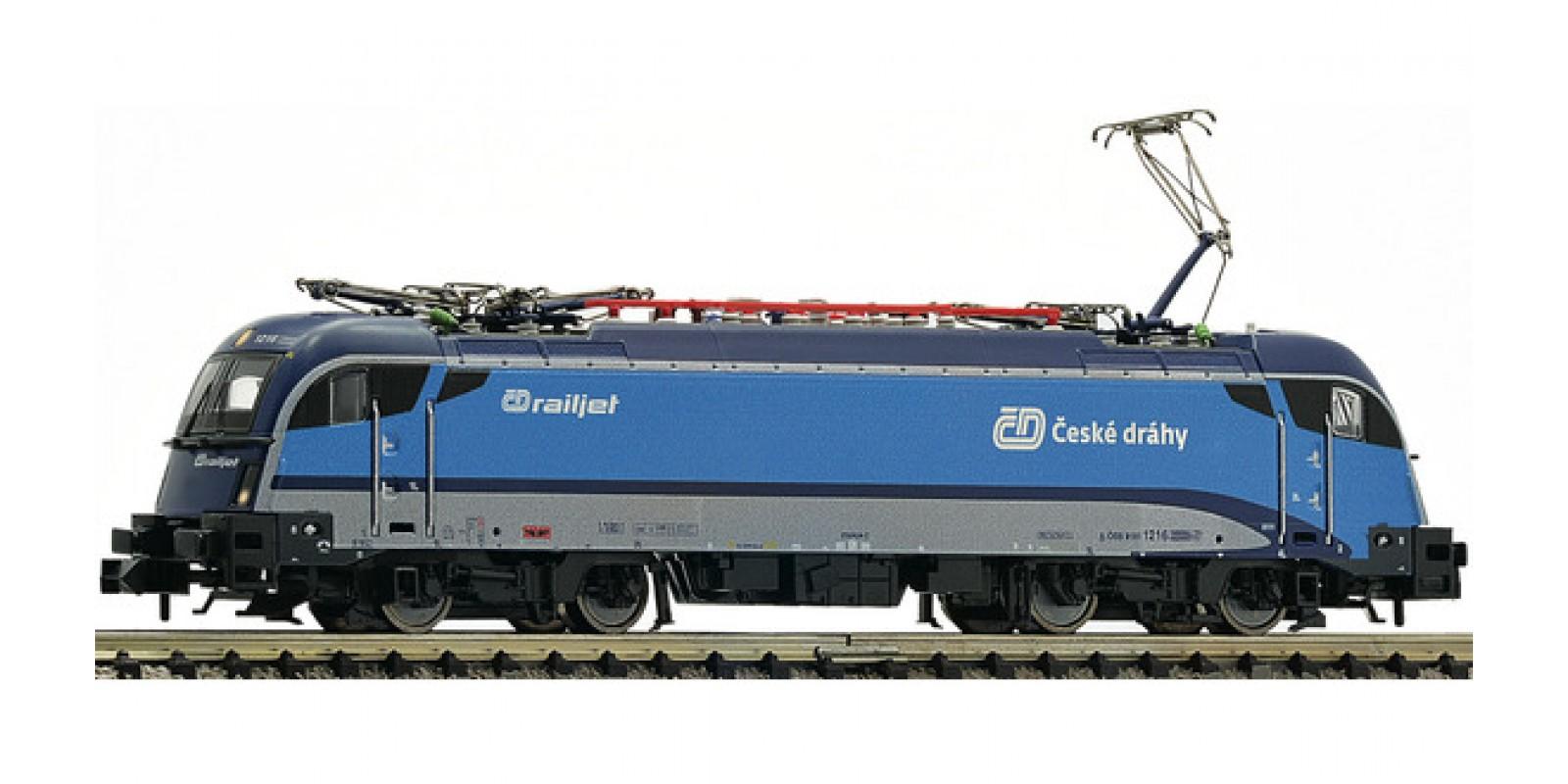 "FL781873 - Electric locomotive BR1216 ""Railjet"", ČD"