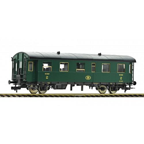 FL507505 - 2nd class passenger coach type 27, SNCB