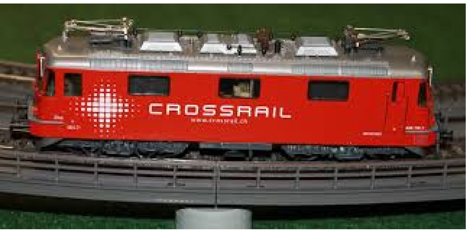 HA16225-32  Re 436 Crossrail rot Zita 436112-7 AC digital with sound  VERY SHORT IN STOCK