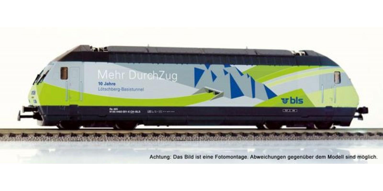 HA28700-22 Re 465 BLS 10 J. Lötschberg Basistunnel DC digital with sound