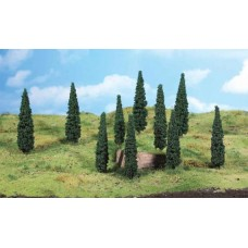 HE1190 8 Cypresses for mediterranean style on your layout 8-10 cm., HO