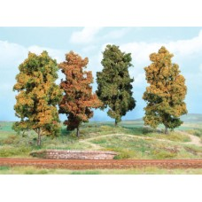 HE2002 4 Autumn trees 11 cm, gauge H0/TT/N
