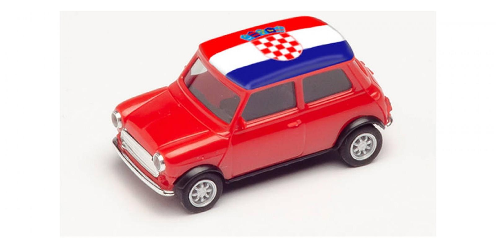 HR420662 Gauge H0 Mini Cooper European Championship 2021, Croatia