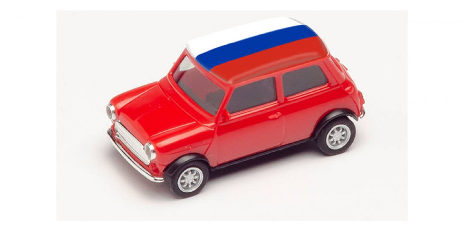 HR420716 Gauge H0 Mini Cooper European Championship 2021, Russia