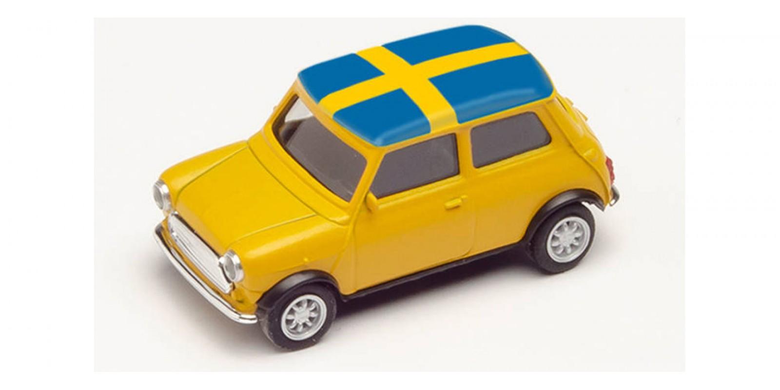 HR420723 Gauge H0 Mini Cooper European Championship 2021, Sweden