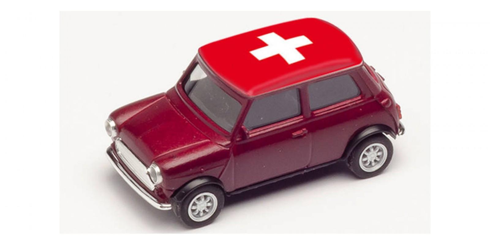 HR420730 Gauge H0 Mini Cooper European Championship 2021, Switzerland