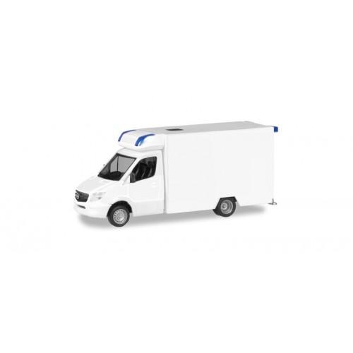 HR013390 Mercedes-Benz Sprinter Fahrtec RTW, white
