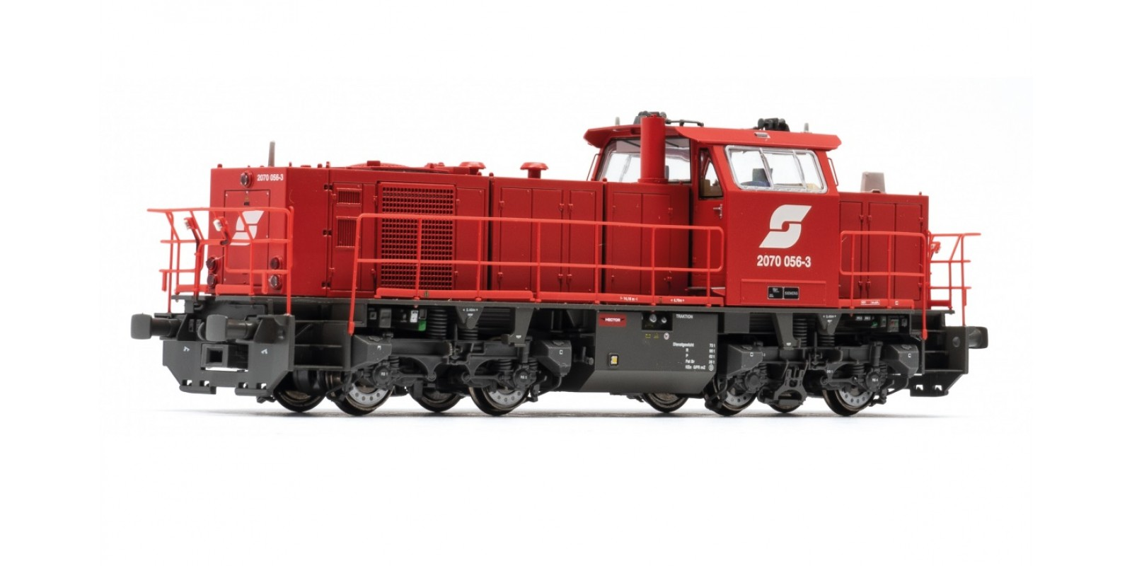 JA10732 H0 AC D-Lok 2070.056 Pfla Metall Sound