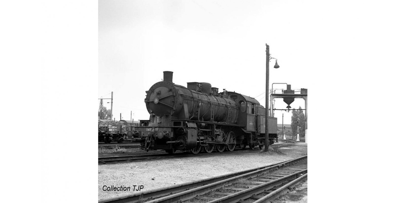 JO2404 SNCF, Nord 040D, 3-dome symetrical boiler, period III,
