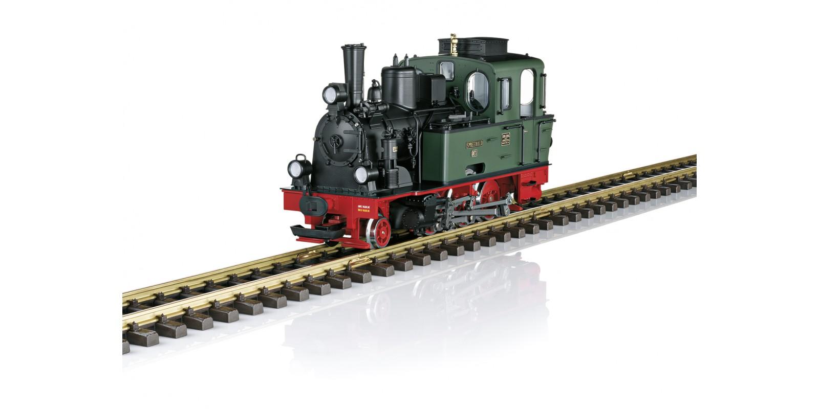 L24742 DEV Spreewald Steam Locomotive