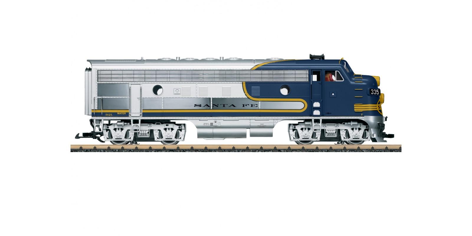 L20585 Santa Fe F7A Diesel Locomotive