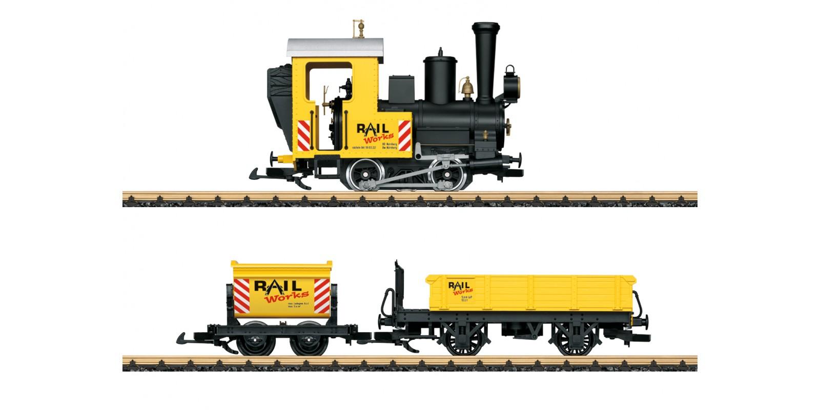 L70503 Construction Site Train Starter Set. 230 Volts