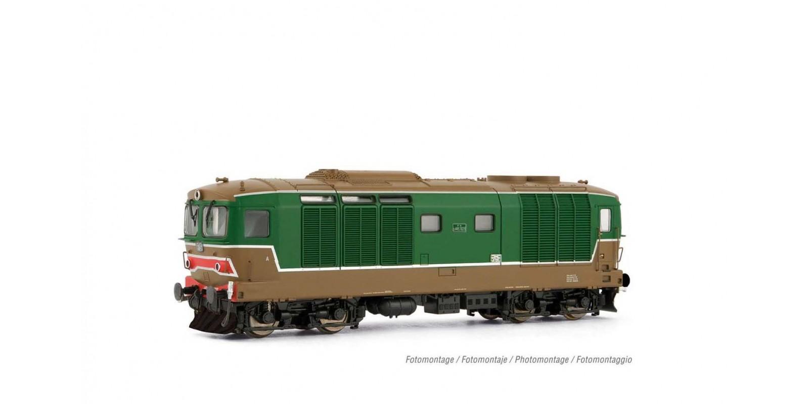 LI2650 FS, D445 1st series, green/brown livery, ep. IV-V