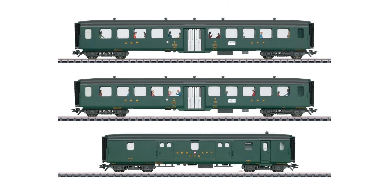 "43385 ""D96 Isar-Rhône"" Express Train Passenger Car Set 2"