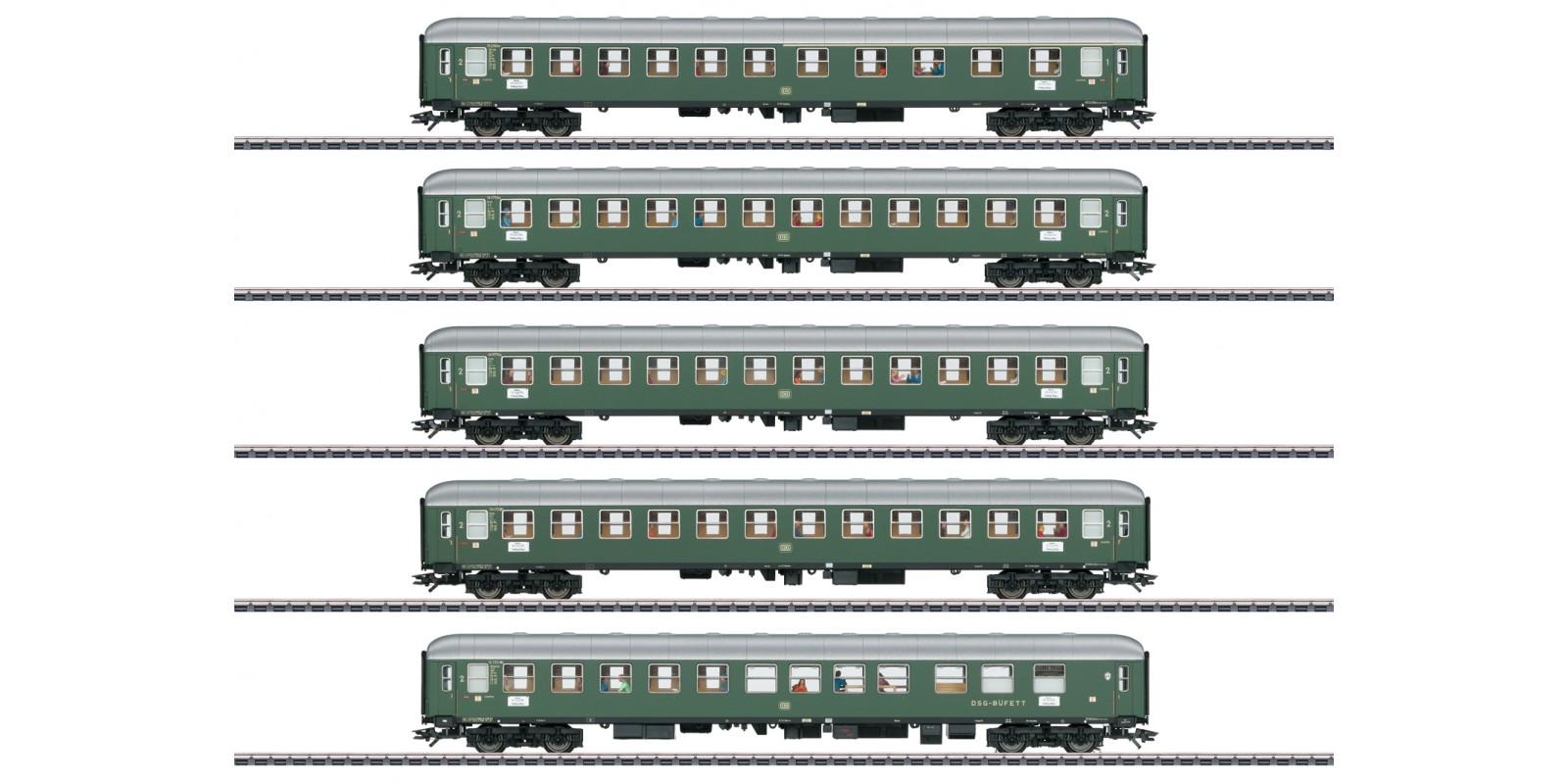 "43935 ""D96 Isar-Rhône"" Express Train Passenger Car Set 1"