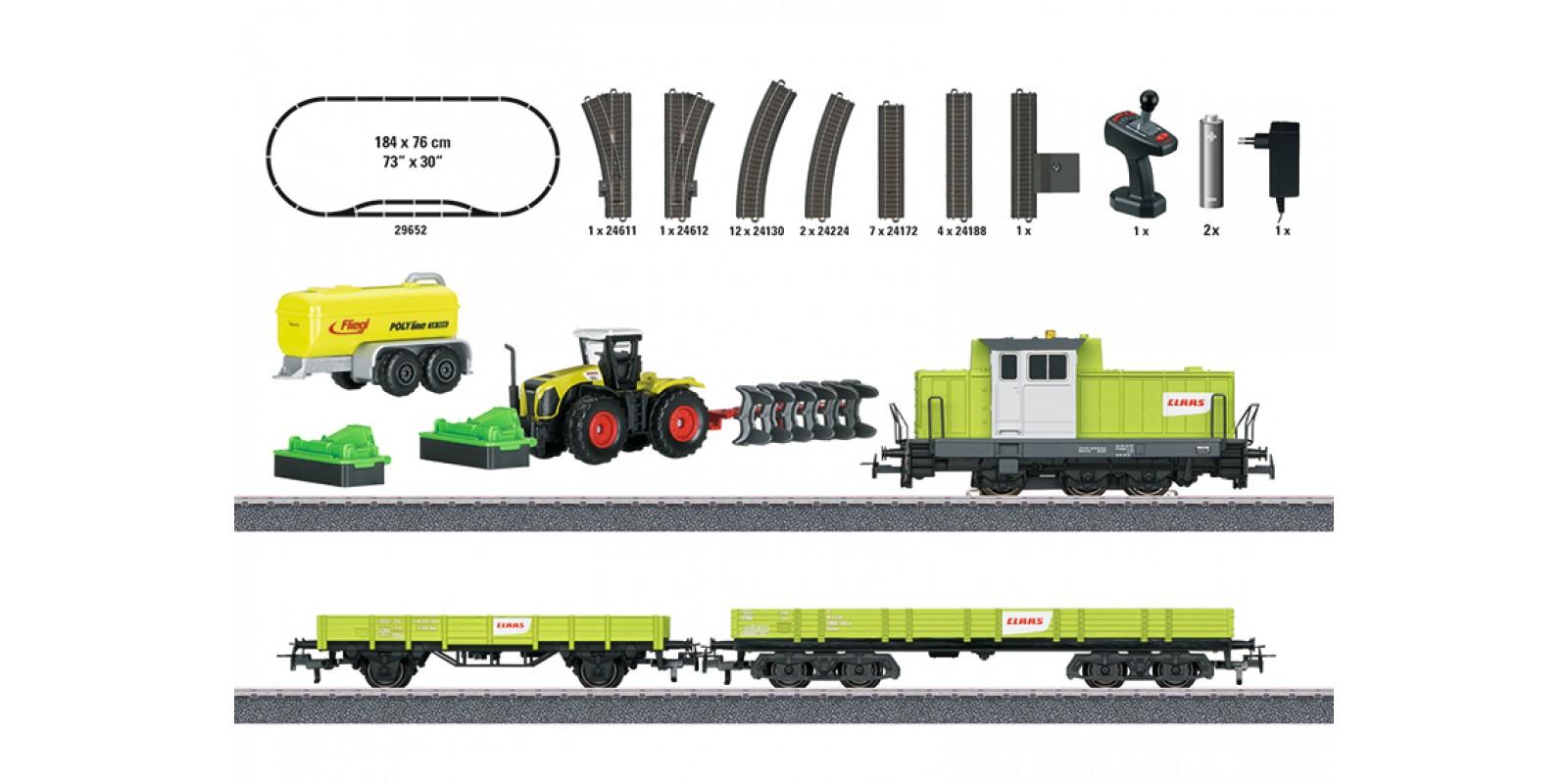 """29652 Märklin Start up - """"Farming Train"""" Starter Set. 230 Volts"""