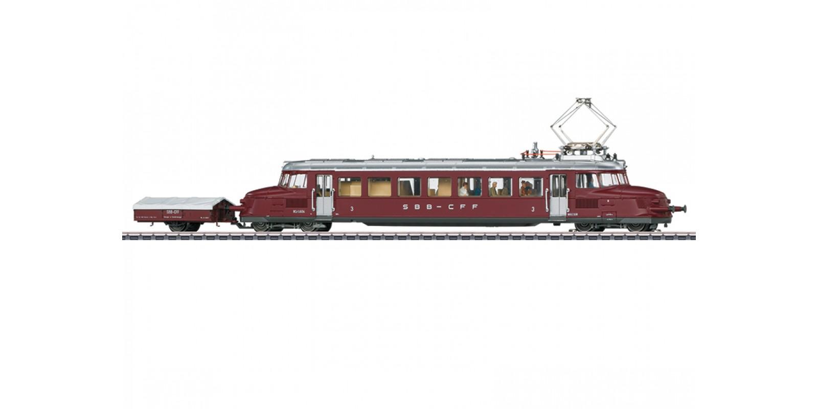 37869 Class RCe 2/4 Powered Rail Car