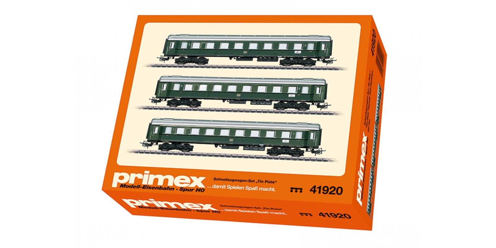 "41920 ""Tin-Plate"" Express Train Passenger Car Set"