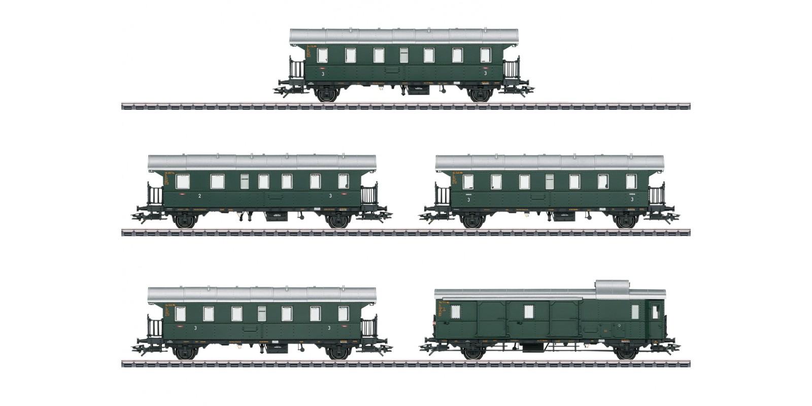 """43141 """"Donnerbüchsen"""" / """"Thunder Boxes"""" Passenger Car Set"""