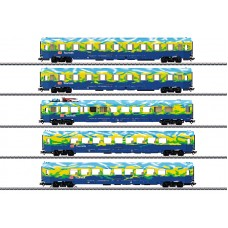 "43878 ""Tourism Train"" Passenger Car Set"