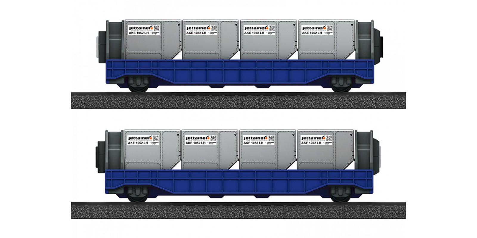 "44117 Märklin my world – Airport ""Jettainer"" Car Set"