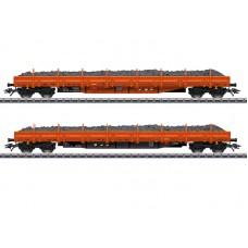 "047099 ""Ballast Transport"" Low Side Car Set"