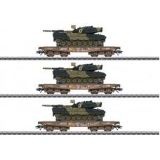 048795 Type Slmmps Heavy-Duty Flat Car Set