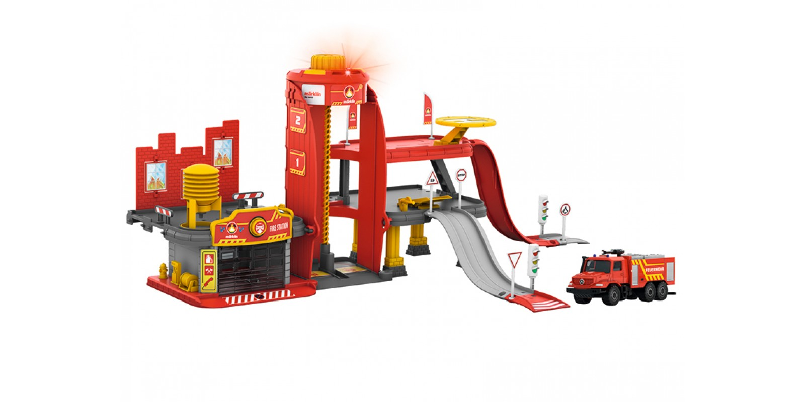 72219 Märklin my world – Fire Station with Light and Sound Function
