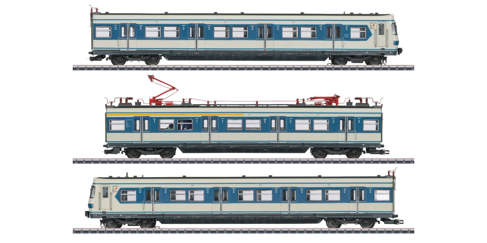 37508 Class 420 S-Bahn Powered Rail Car Train