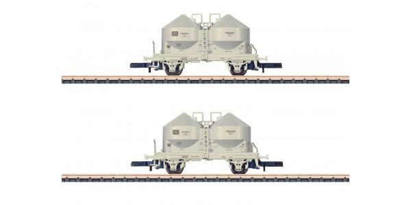 86665 Powdered Freight Silo Car Set