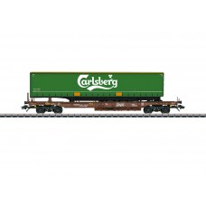 47112 Carlsberg Deep Well Flat Car